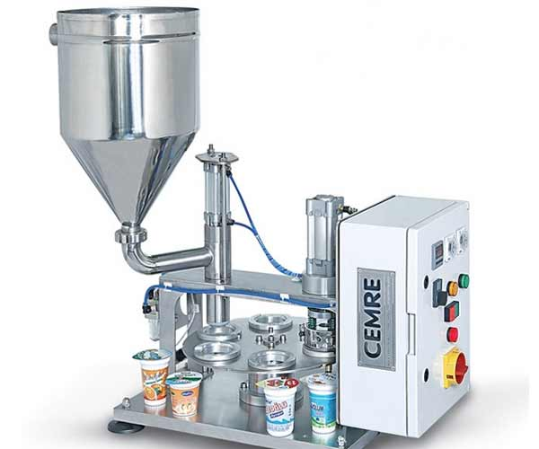 Manual Cup Filling Sealing Machine