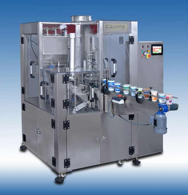 Rotary Cup Filling Machine